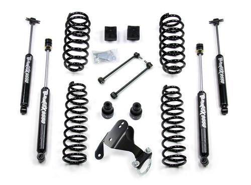 "TeraFlex 1251000 2.5"" Lift Kit with 9550 Shocks for Jeep Wrangler JK 4 Door 2007-2016"