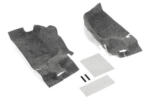 Bedrug BRJL18F2 Premium Carpeted 2 Piece Front Floor Kit for Jeep Wrangler JL 2 Door 2018+