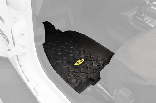 Bestop 51514-01 All Weather Floor Liners for Jeep Wrangler JL 2018+