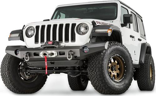 WARN 101335 Elite Series Full Width Front Bumper for Jeep Wrangler JL & Gladiator JT 2018+