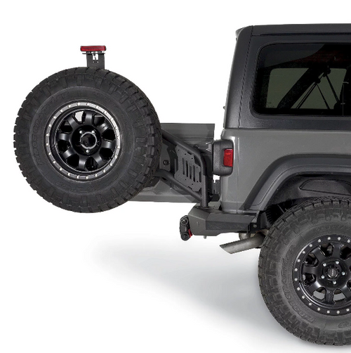 WARN 102410 Elite Series Rear Bumper for Jeep Wrangler JL 2018+