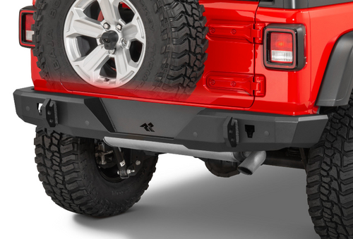 Rugged Ridge 11540.36 Heavy Duty Rear Bumper for Jeep Wrangler JL 2018+
