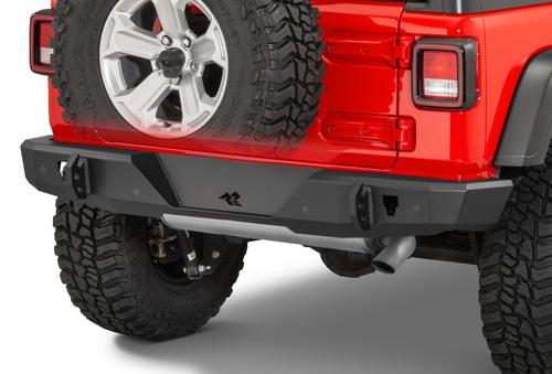 Rugged Ridge 11540.36 Heavy Duty Rear Bumper for Jeep Wrangler JL 2018+
