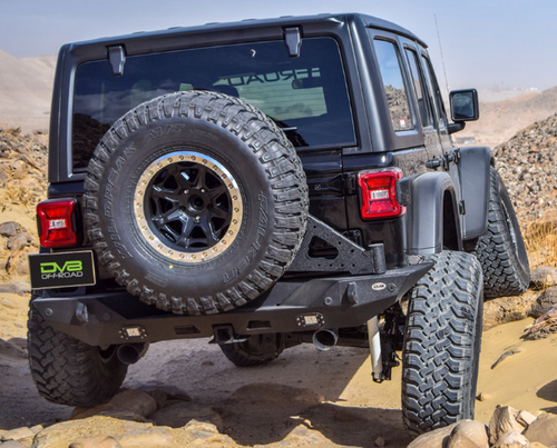 DV8 Offroad RBJL-01 Full Length Rear Bumper for Jeep Wrangler JL 2018+