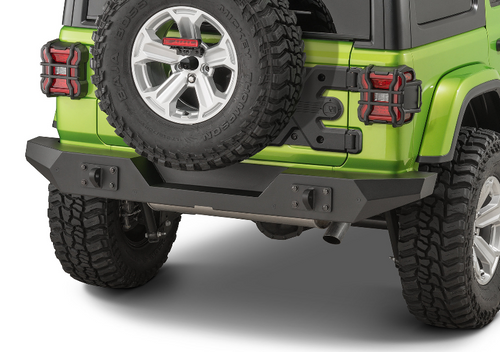 Rugged Ridge 11548.51 Spartan Full Width Rear Bumper for Jeep Wrangler JL 2018+