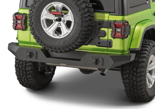 Rugged Ridge 11548.51 Spartan Full Width Rear Bumper for Jeep Wrangler JL 2018+