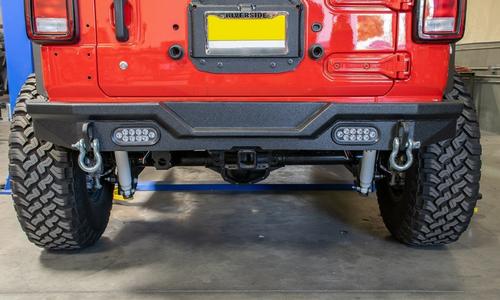 DV8 Offroad RBJL-03 Rear Bumper for Jeep Wrangler JL 2018+