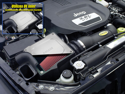 AIRAID MXP Cold Air Dam Intake (Wrangler JK 2012-2018)