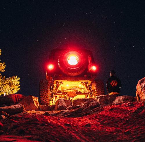 Baja Designs 447059 LED Rock Light Kit for Jeep Wrangler JL 2018+