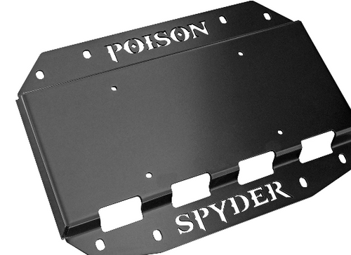 Poison Spyder 19-04-013P1 Tire Carrier Delete Plate with Camera & License Plate Mount for Jeep Wrangler JL 2018+