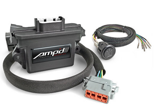 Superchips 48852 Amp'D Throttle Booster for Jeep Wrangler JK 2007-2018