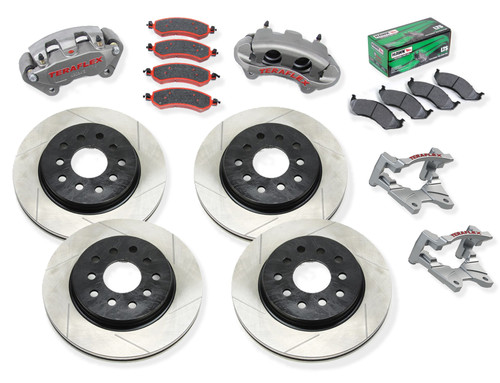 Teraflex Big Brake Package with Hawk Rear Pads