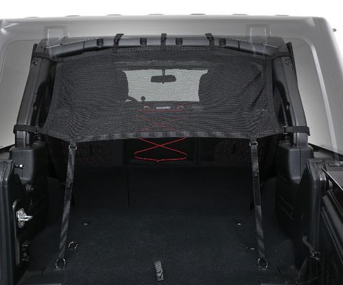Smittybilt 97501 Cloak Mesh Sides & Rear for Jeep Wrangler JL 4 Door 2018+
