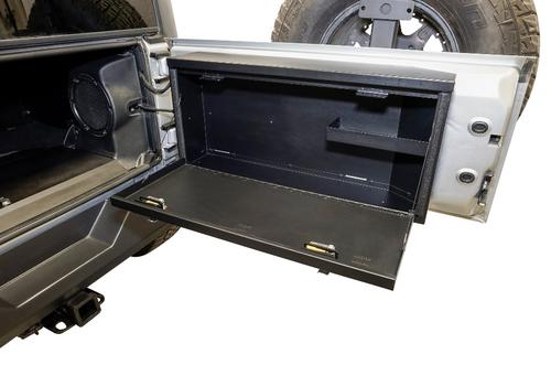 Tuffy 359-01 Tailgate Lockbox for Jeep Wrangler JK 2007-2018