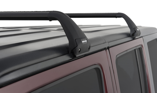 Rhino-Rack SG59 Gutter-Mount Vortex 2-Bar Roof Rack for Jeep Wrangler JK & JL 4 Door 2007+
