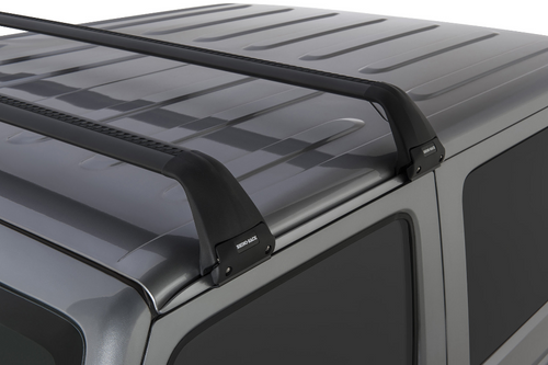 Rhino-Rack SG60 Gutter-Mount Vortex 2-Bar Roof Rack for Jeep Wrangler JK & JL 2 Door 2007+