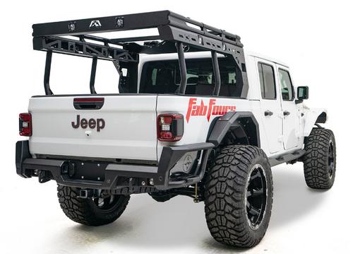 Fab Fours JTOR-01-1 Overland Rack for Jeep Gladiator JT 2020+