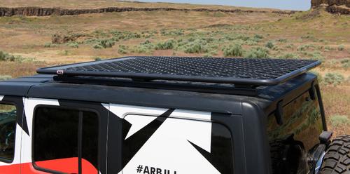 ARB 4913020MKJL Flat Rack in Aluminum for Jeep Wrangler JL 4 Door 2018+