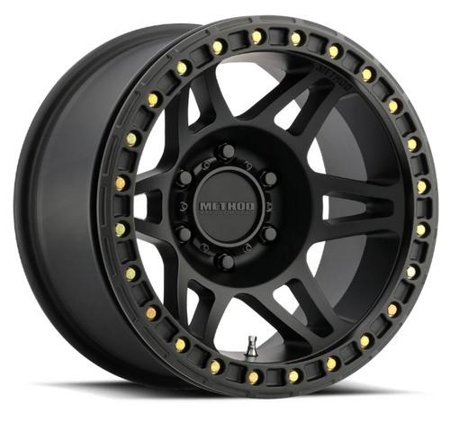 "Method Race Wheel MR10679050544B 106 Beadlock in Black 17x9 5x5 -44mm/3.5"""