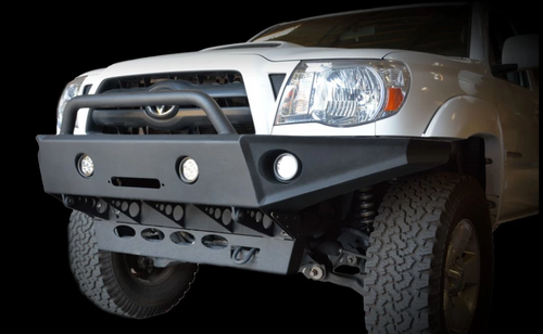 DV8 Offroad FBTT1-02 Front Winch Bumper for Toyota Tacoma 2005-2015