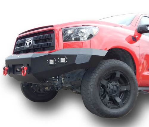 DV8 Offroad FBTT2-02 Front Winch Bumper with Lights for Toyota Tundra 2007-2013