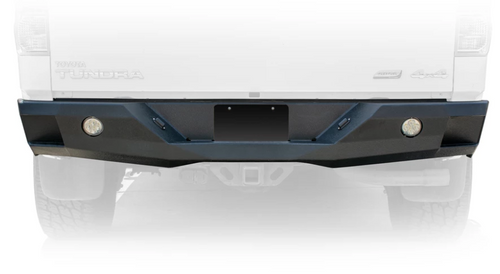 DV8 Offroad RBTT2-02 Rear Bumper with Light Provisions for Toyota Tundra 2007-2013
