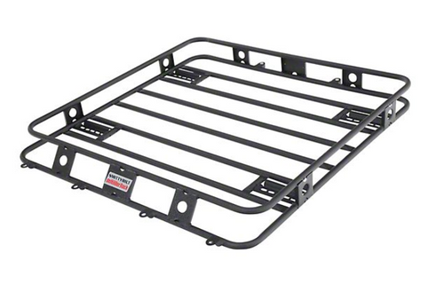 Smittybilt 40404 Defender Welded One-Piece Roof Rack for Toyota Tacoma and Tundra 2005+