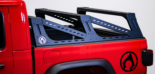 Artec CR1005 Mid-Height Aluminum Bed Rack for Jeep Gladiator JT 2020+