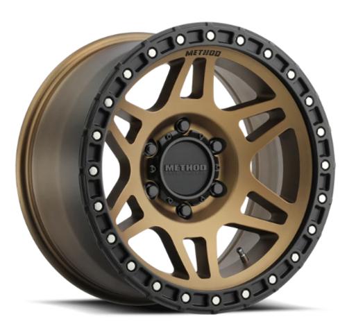 Method Race Wheels MR31279050912N 312 Wheel 17x9 5x5 Bronze with Black Lip