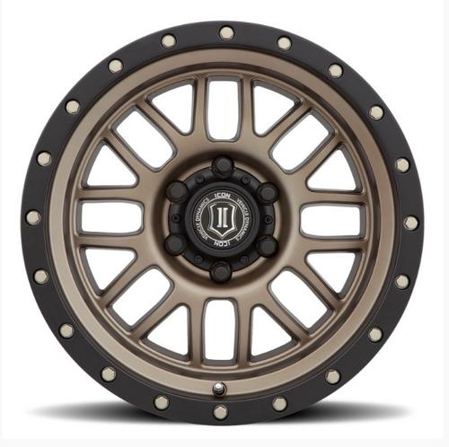 ICON Vehicle Dynamics 1217857347BR Alpha Wheel 17x8.5 5x5 in Bronze