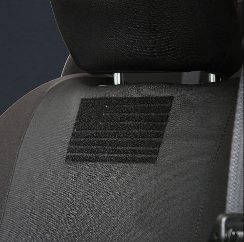 Smittybilt 57747701 G.E.A.R. Gen2 Front Seat Cover Pair for Jeep Wrangler JL 4 Door & Gladiator JT 2018+