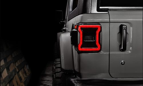 Oracle Lighting 5852-504 Black Series LED Tail Lights for Jeep Wrangler JL 2018+