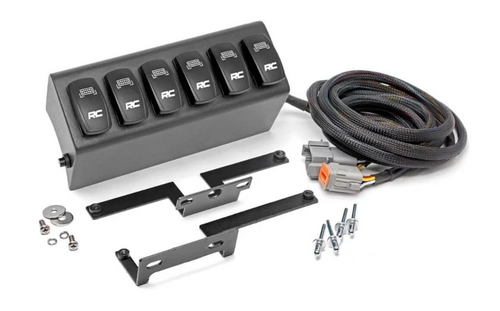 Rough Country 70959 MLC-6 Multiple Light Controller for Jeep Wrangler JK 2007-2018