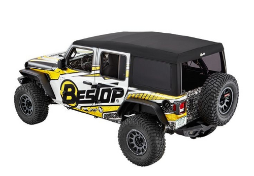Bestop 54725-17 SuperTop Ultra for Jeep Wrangler JL 4 Door 2018+