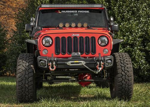 Rugged Ridge 11549.11 Arcus Front Bumper for Jeep Wrangler JK 2007-2018