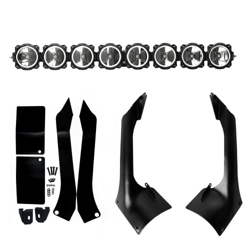 KC Hilites Gravity Pro 6 LED Light Bar Kit (Wrangler JL & Gladiator JT 2018+)