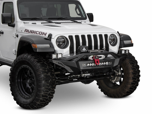 ADD Offroad F961232080103 Stealth Fighter Mid-Length Front Winch Bumper for Jeep Wrangler JL & Gladiator JT 2018+