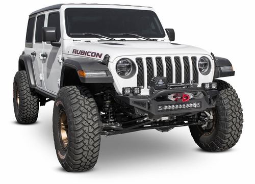 ADD Offroad F964902080103 Rock Fighter Front Winch Bumper for Jeep Wrangler JL & Gladiator JT 2018+
