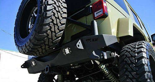 ADD Offroad R9514313801NA Stealth Fighter Rear Bumper for Jeep Wrangler JK 2007-2018