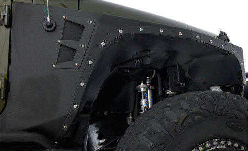 Smittybilt XRC Front Fender Armor Kit for Jeep JK