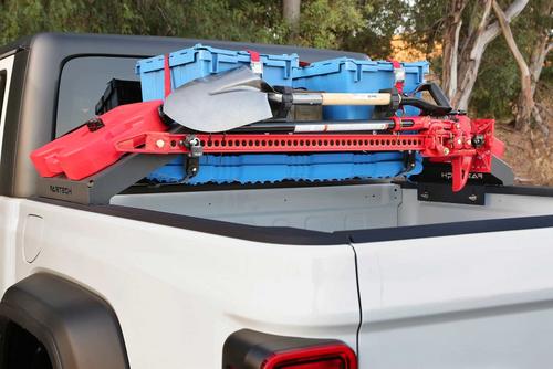 FabTech FTS24266 Cargo Rack Hi-Lift Jack Mount for Jeep Gladiator JT 2020+