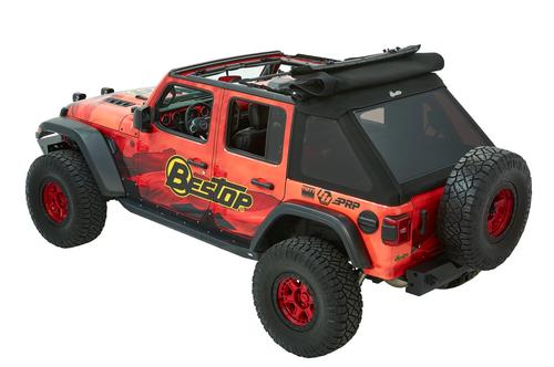 Bestop 54925-17 TrekTop Ultra Soft Top for Jeep Wrangler JL 4 Door 2018+