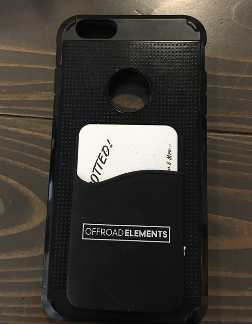 Offroad Elements PMCH Phone Mounted Card Holder