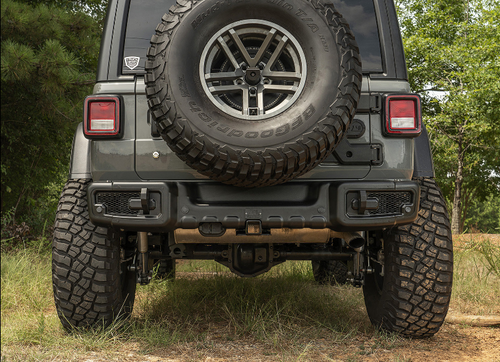 Rugged Ridge 11544.25 Spartacus Rear Bumper for Jeep Wrangler JL 2018+