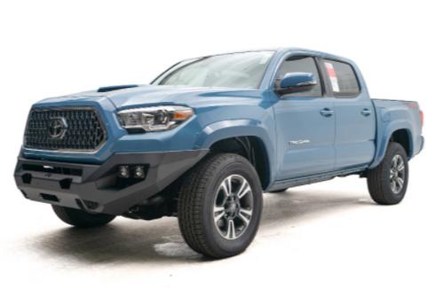 Fab Fours  TT16-X3651-1 Matrix Front Bumper- No Guard for Toyota Tacoma Gen 3 2016+