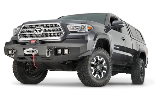 WARN 100927 Ascent Full Width Front Bumper for Toyota Tacoma Gen 3 2016+