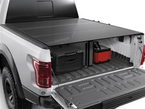 WeatherTech 8HF050015 AlloyCover Hard Tri-Fold Truck Bed Cover for 5' Bed Toyota Tacoma Gen 3 2016+