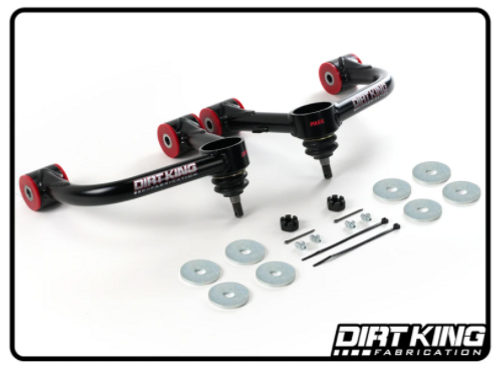 Dirt King Fabrication DK-811901 Ball Joint Upper Control Arms for Toyota Tacoma 2005+