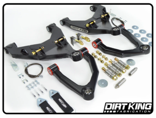 Dirt King Fabrication DK-811908-B Long Travel Kit for Toyota Tacoma 2005+