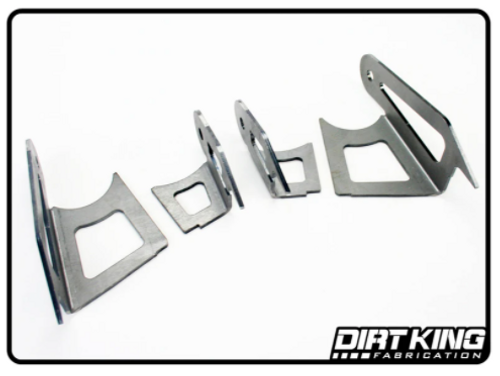 Dirt King Fabrication DK-811945 Upper Arm Double Shear Kit for Toyota Tacoma 2005+